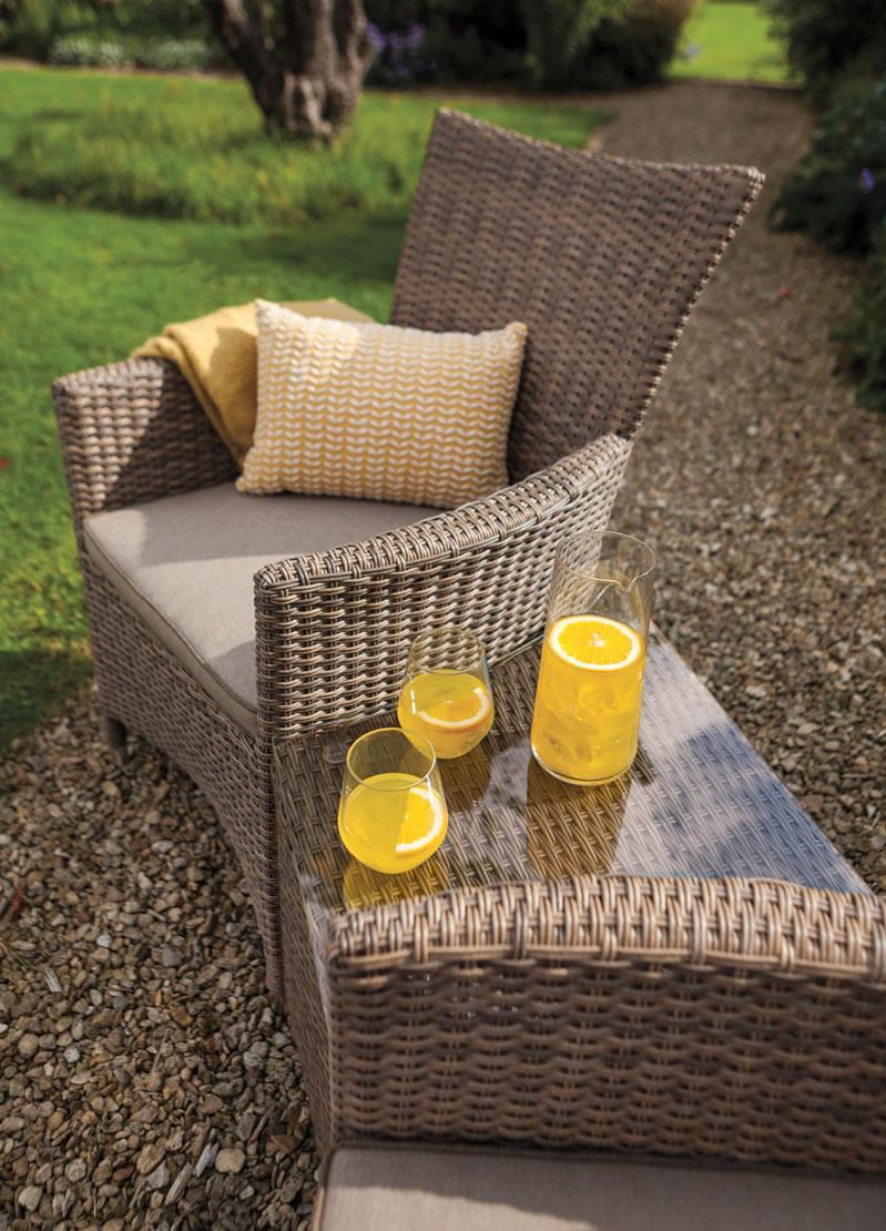Hartman Madison Duet 2 Seat Rattan Garden Furniture Set - £267.75 ...