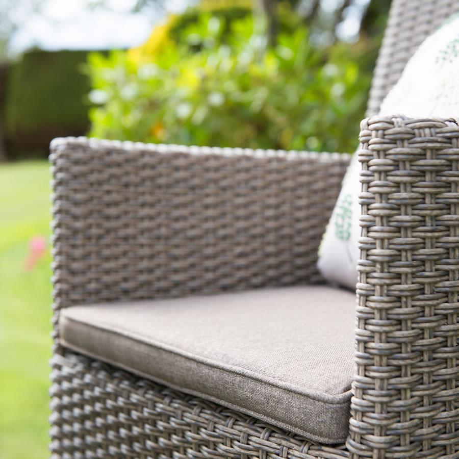 Hartman Madison Rattan Weave Garden Bistro Furniture Set - £297.5 ...