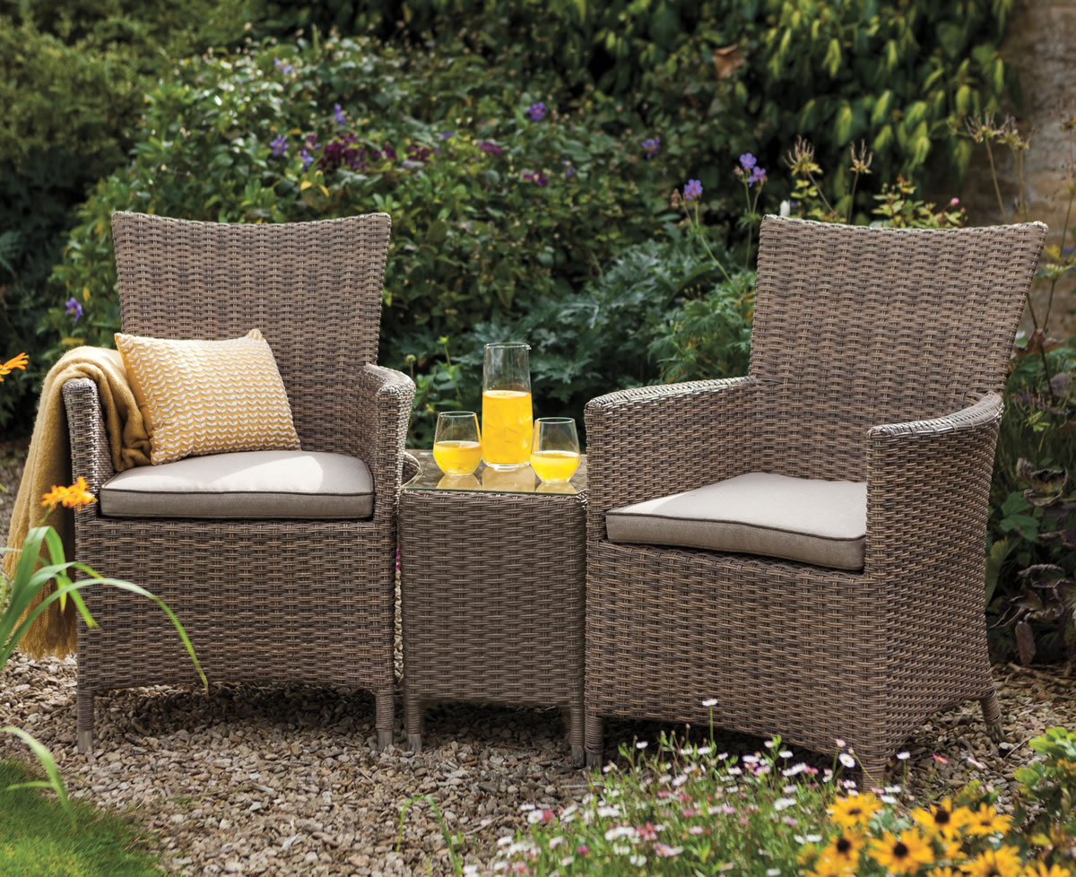 Hartman Madison Duet 2 Seat Rattan Garden Furniture Set   £297.5 |  Garden4Less UK Shop.