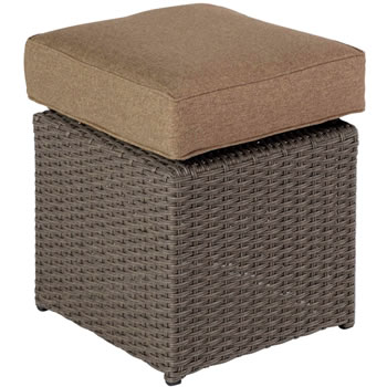 Image of 2017 - 2 x Madison Weave Stool in Sepia / Henna