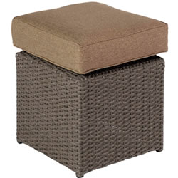 Small Image of 2017 - 2 x Madison Weave Stool in Sepia / Henna