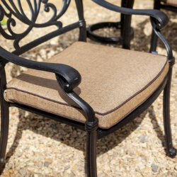 Small Image of Hartman Amalfi / Capri Replacement Seat Cushion - Amber
