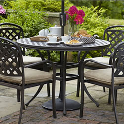 Small Image of Hartman Berkeley 4 Seater Round Dining Set NO PARASOL