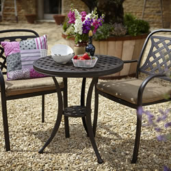 Small Image of Hartman Berkeley Bistro Set - Bronze/Dune