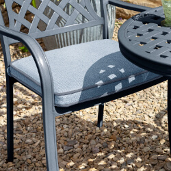 Small Image of Hartman Berkeley Replacement Weatherready Cushion in Platinum