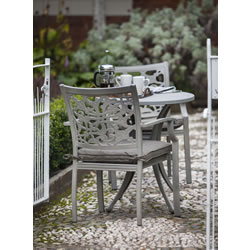 Small Image of Hartman Celtic Bistro Set in Riven with Spraystone Table Top