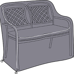 Small Image of Hartman Berkeley 2 Seat Bench Cover