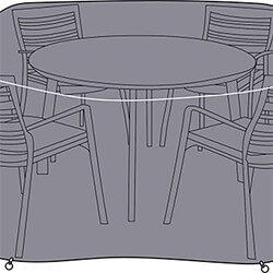 Small Image of Hartman Amalfi 4 Seater Round Set Cover