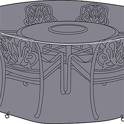 Small Image of Hartman Amalfi 6 Seater Round Cover