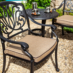 Extra image of 2019 Hartman Amalfi Bistro Set in Bronze / Amber