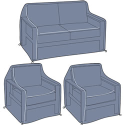 Small Image of Hartman Atlas 2 Seat Lounge Set Cover