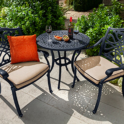 Small Image of Hartman Capri Bistro Set in Bronze/Amber