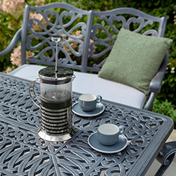 Extra image of Hartman Capri Coffee Set in Antique Grey / Platinum