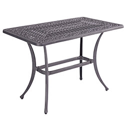 Small Image of Hartman Capri Rectangular Casual Coffee Table in Antique Grey