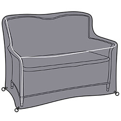 Small Image of Hartman Heritage 2 Seat Bench Cover