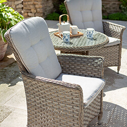 Extra image of Hartman Heritage Bistro Set in Beech / Dove