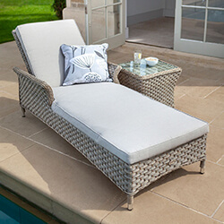 Extra image of Hartman Heritage Lounger with Cushion in Beech / Dove