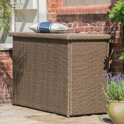 Small Image of Appleton, Madison, Essential Weave Cushion Storage Box by Hartman Bark