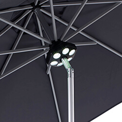 Small Image of Rechargeable LED Parasol Light from Hartman