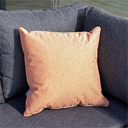 Small Image of Hartman Salmon 45cm Square Waterproof Scatter Cushion