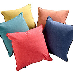 Extra image of Hartman Salmon 45cm Square Waterproof Scatter Cushion