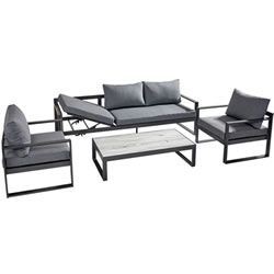 Extra image of Hartman Vienna Lounge Sofa Set with Integrated Lounger