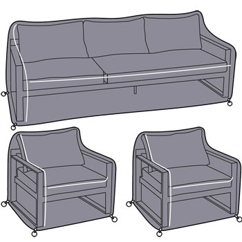Image of Hartman Vienna Lounge Sofa Set Cover