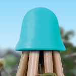 Small Image of Haxnicks Cane Topper 8 Teepee - Turquoise