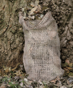 Image of Jute Naturally Composting Sack Pack of Three - Haxnicks