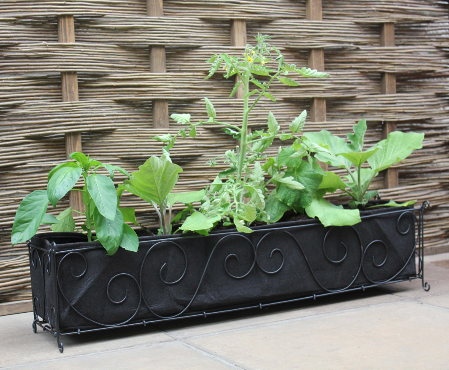 Haxnicks Vigoroot Long Planter 163 22 99 Garden4less Uk Shop