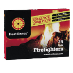 Small Image of Heat Beads Firelighters - Pack of 24