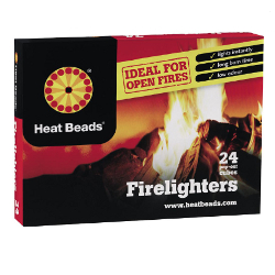 Image of Heat Beads Firelighters - Pack of 24