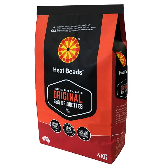 Image of Heat Beads BBQ Briquettes - 4kg