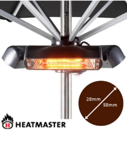 Image of Heatmaster Slimline Super Parasol Attaching Heater