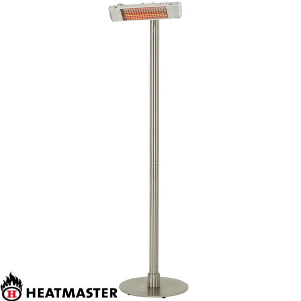 heatmaster ultra free standing patio heater 163 190 00 at garden4less uk