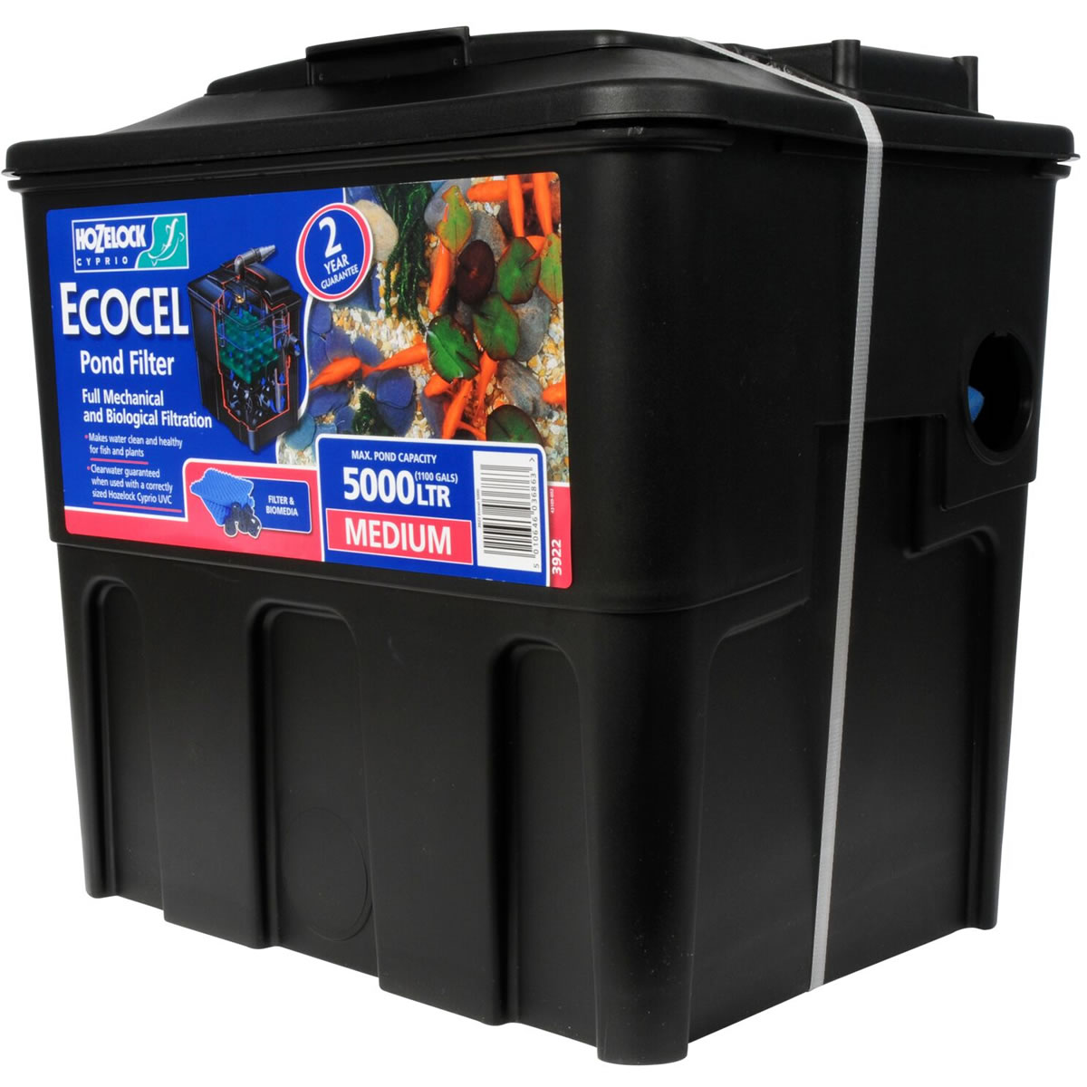 Extra image of Hozelock Ecocel 5000 Pond Filter