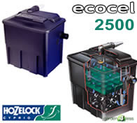 Reviews for hozelock ecocel 2500 pond filter at for Pond filters reviews