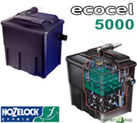 Image of Hozelock Ecocel 5000 Pond Filter