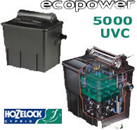 Image of Hozelock Ecopower+ 5000 Filter with UVC