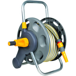 Small Image of Hozelock 45m 2 in 1 Reel with 25m Hose