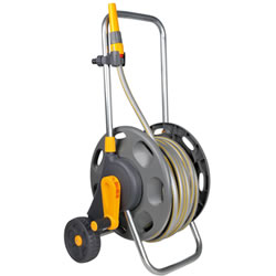 Small Image of Hozelock 60m Hose Cart With 30m Hose