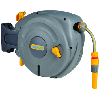 Image of Hozelock Mini Auto Reel Hose System - 2485