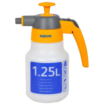 Image of Hozelock 1.25ltr Spraymist Pressure Sprayer