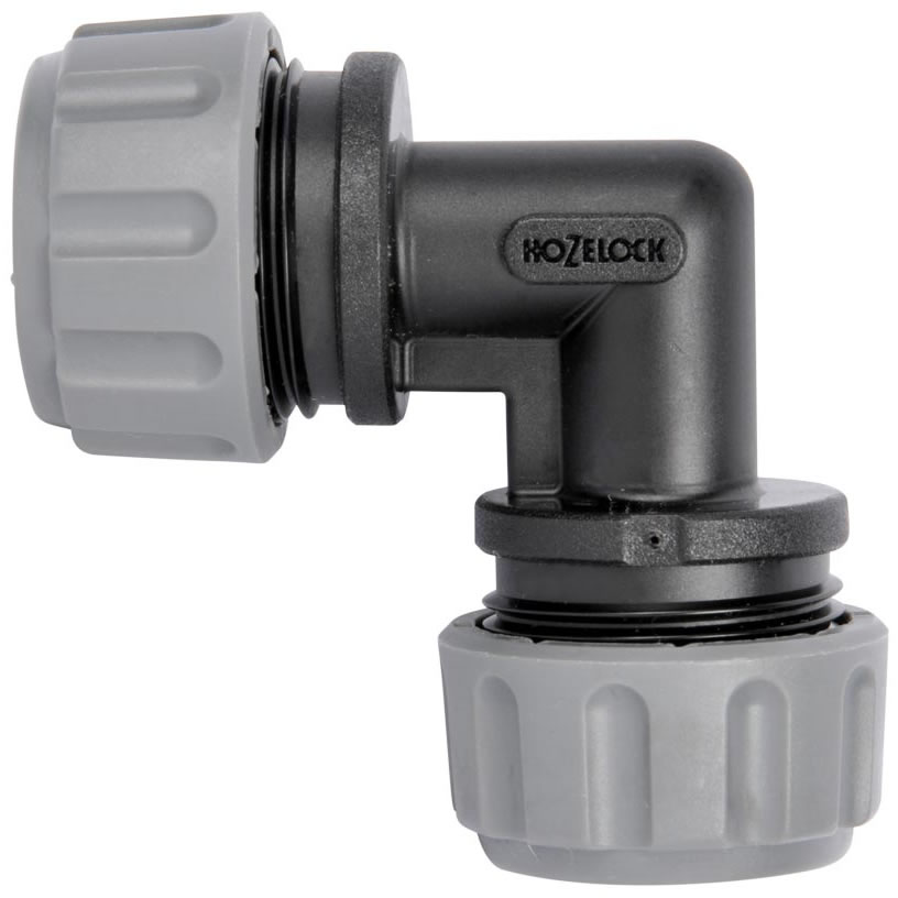Extra image of Hozelock Micro Irrigation 13mm Elbow - Pack of 2