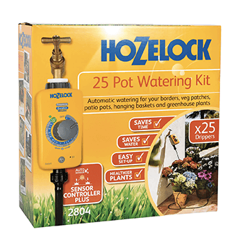 Image of Hozelock 25 Pot Automatic Watering Kit with Select Controller Timer