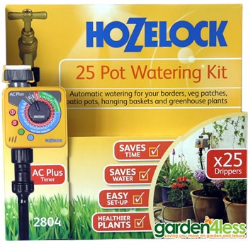Small Image of Hozelock 25 Pot Automatic Watering Kit with Sensor Plus Timer