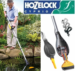 Hozelock pond vac 1752 garden4less uk shop for Garden pond vacuum review