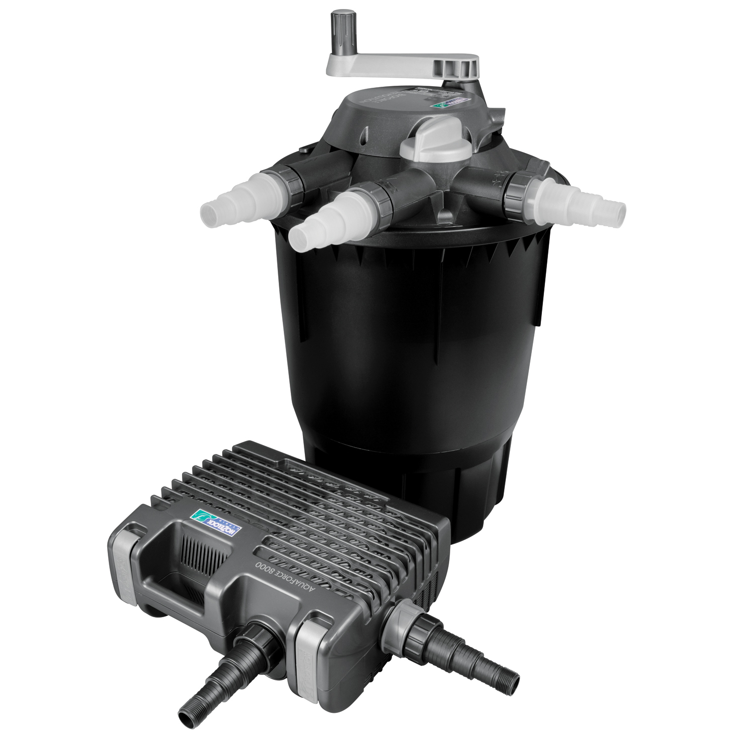 New hozelock bioforce revolution 14000 uvc filtration for Pond filter