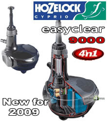 Image of Hozelock Easyclear 4'n1 Pond Pump 9000 - 3009