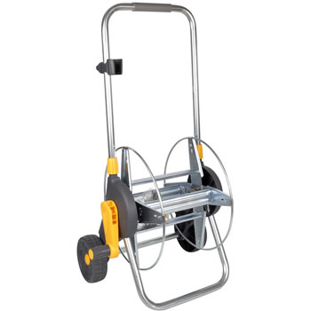 Image of Hozelock Metal Hose Cart, 60m Capacity - 2437